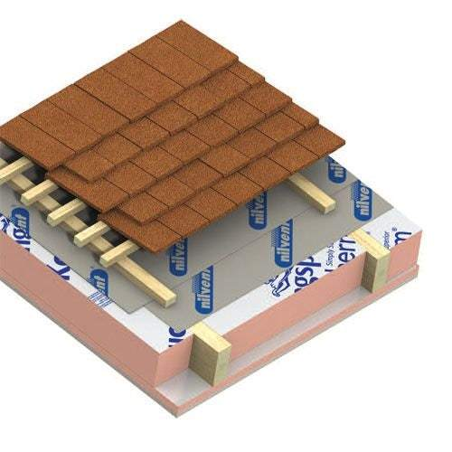 Kingspan Kooltherm K7 Pitched Roof Insulation Board 1.2m x 2.4m x 40mm - Pack of 8