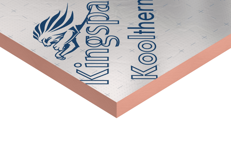 Kingspan Kooltherm K7 Pitched Roof Insulation Board 1.2m x 2.4m x 140mm - Pack of 2 - Mammoth Roofing