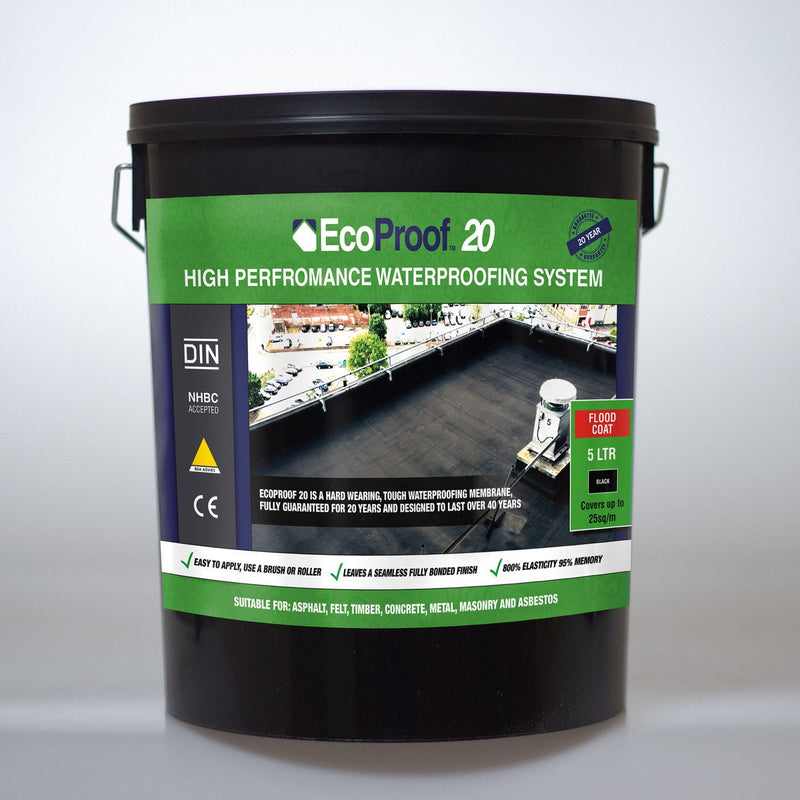Liquid Rubber Flood Coat - 5 Litres - Mammoth Roofing