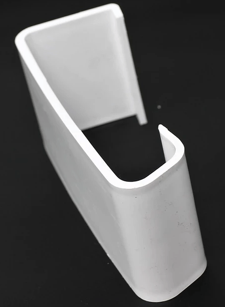 European Plastics Straight Connector for 'M' Type Verge - Mammoth Roofing