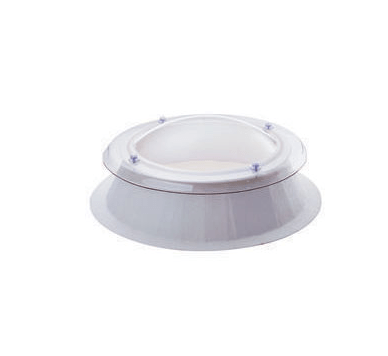 Mardome Circular Double Glazed Fixed Dome & Kerb - 750mm