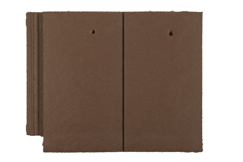 Marley Ashmore Interlocking Concrete Roof Tile - Smooth Brown