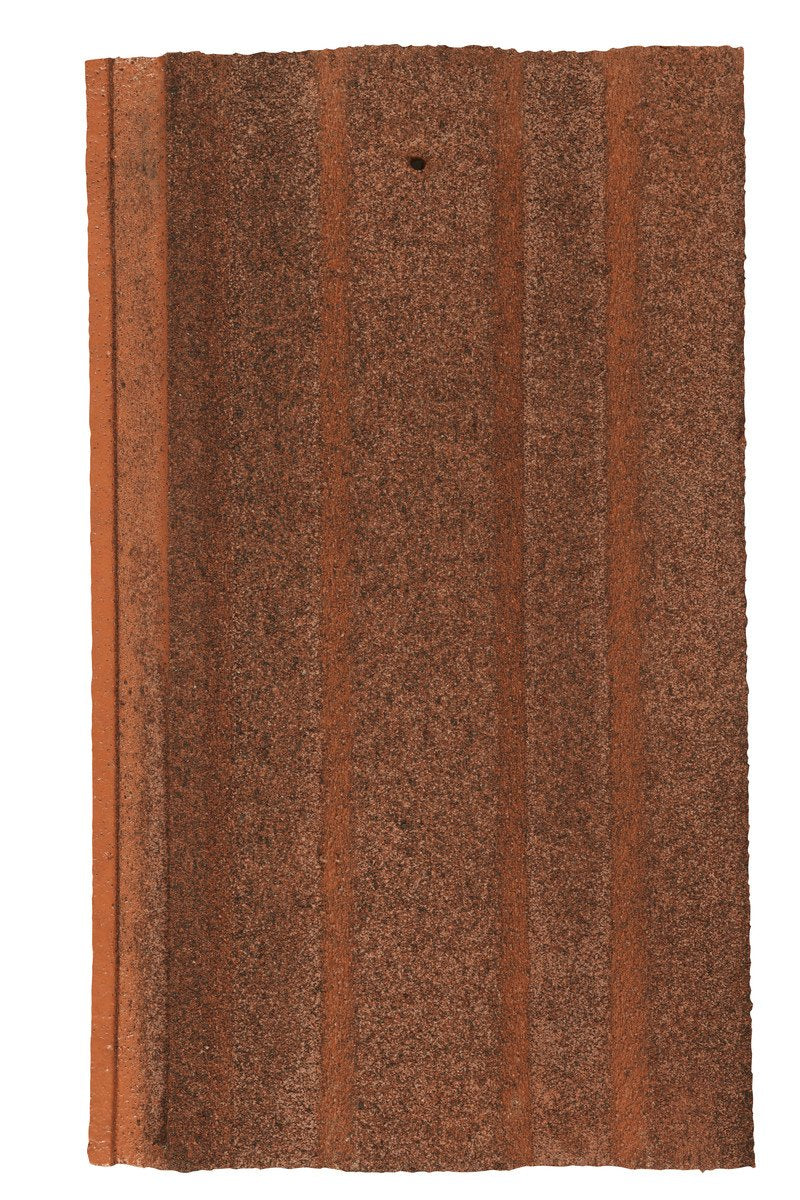 Marley Ludlow Plus Interlocking Concrete Roof Tile - Dark Red - Mammoth Roofing