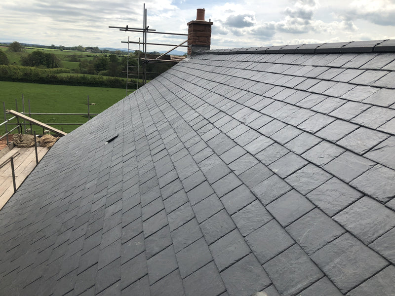 Matadale Heavy Blue Grey Natural Roof Slate 500mm x 250mm