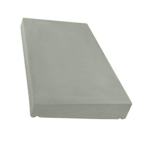 Mammoth Once Weathered Concrete Coping Stone Natural Grey 300 x 600mm - Mammoth Roofing