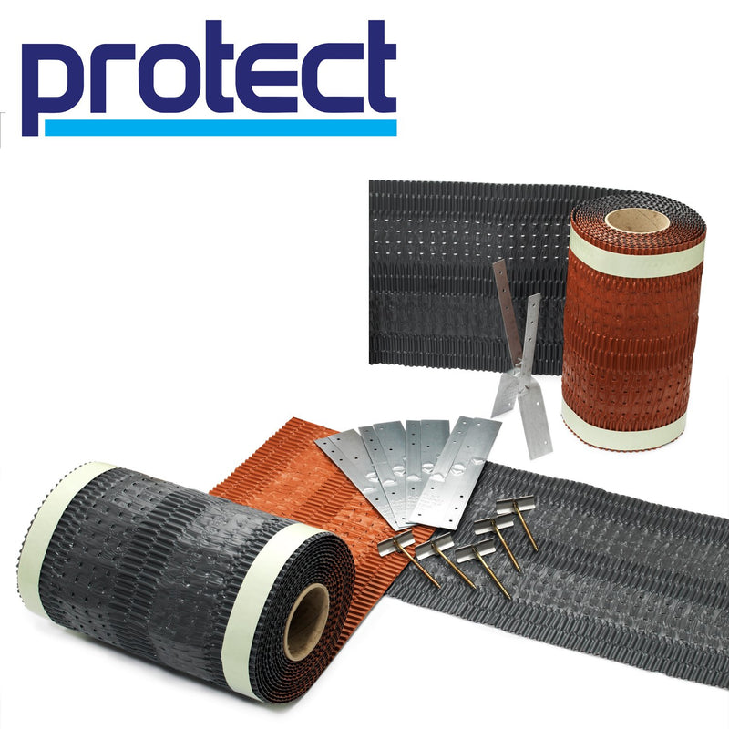 Protect Fulmetal RediRoll Universal Dry Fix Ventilated Ridge & Hip System - Mammoth Roofing