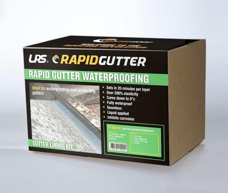 RapidGutter Waterproofing Kit - 5m2 - Mammoth Roofing