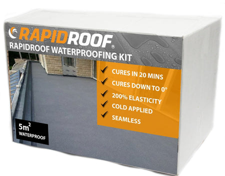 RapidRoof Waterproofing Kit - 5m² - Mammoth Roofing