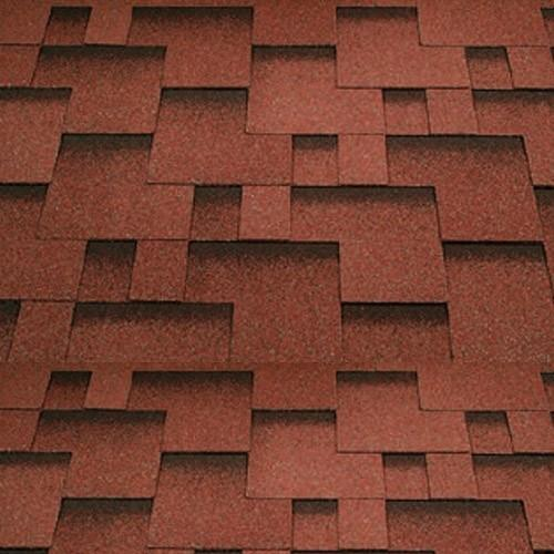Katepal Super Rocky Bitumen Roofing Shingles (3m2) - Red - Mammoth Roofing