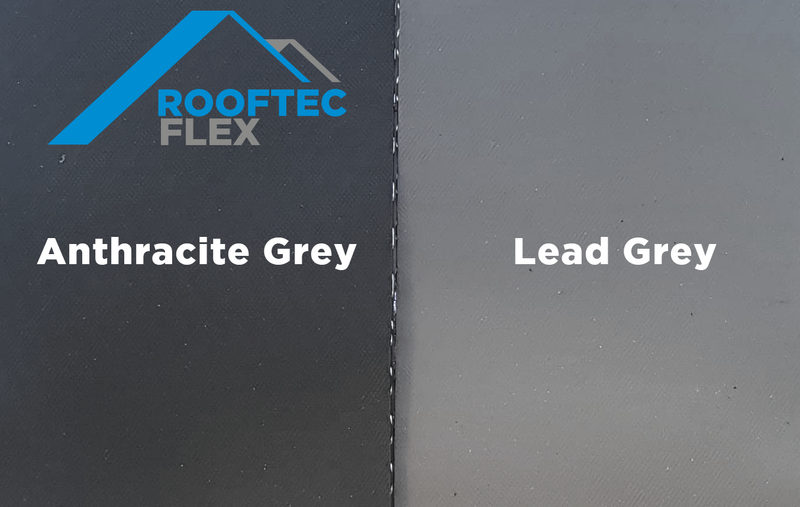 Rooftec Flex Lead Flashing Alternative 200mm x 5m Lead Grey - Mammoth Roofing