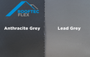 Rooftec Flex Lead Flashing Alternative 450mm x 5m Anthracite Grey - Mammoth Roofing