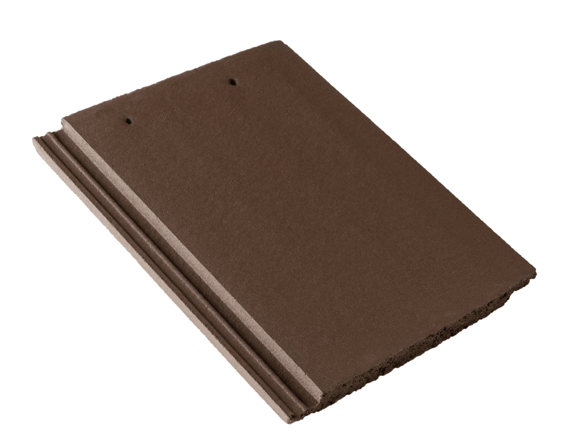 Russell Grampian Concrete Roof Tile - Peat Brown - Mammoth Roofing