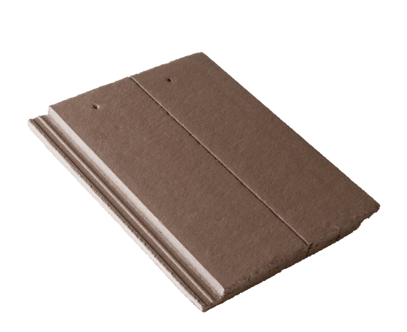 Russell Highland Concrete Roof Tile - Peat Brown - Mammoth Roofing