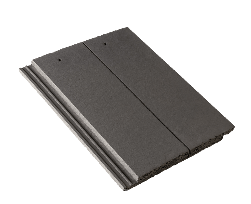 Russell Highland Concrete Roof Tile - Slate Grey - Mammoth Roofing