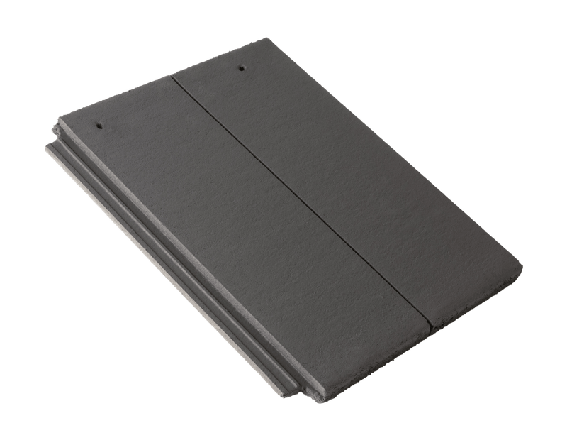 Russell Lothian Concrete Roof Tile - Slate Grey