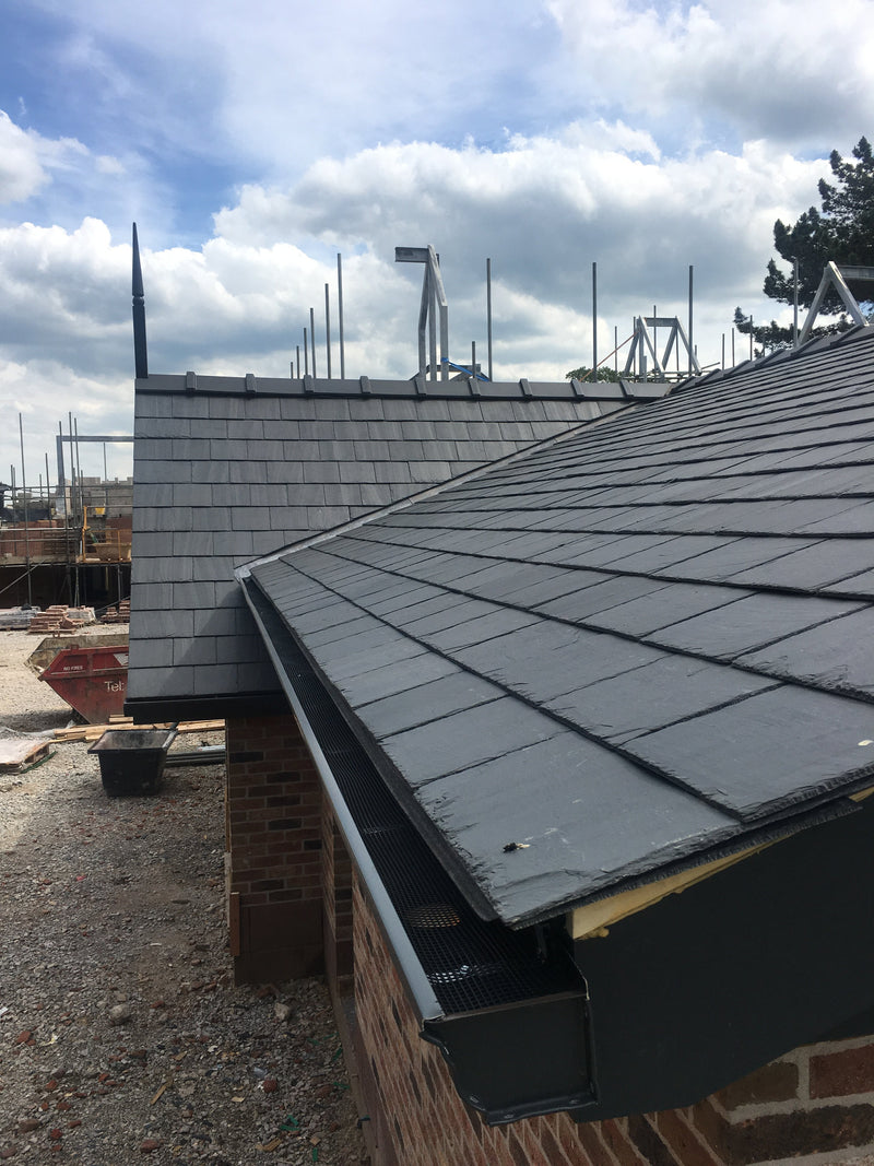 Samaca Q33 Premium Blue Grey Natural Roof Slate 500mm x 250mm - Mammoth Roofing