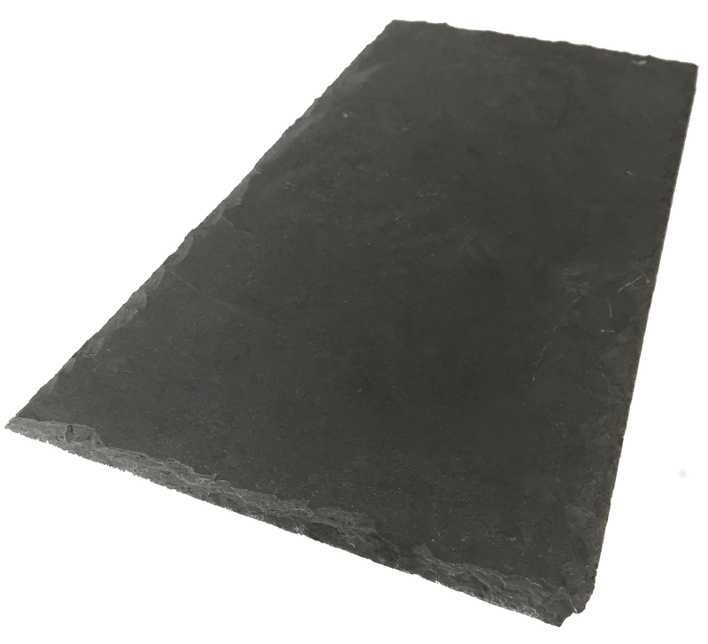 Sobrano Brazilian Dark Grey/Graphite Natural Roof Slate and a Half 600mm x 450mm - Mammoth Roofing