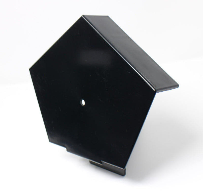 European Plastics PVC Continuous Dry Verge Half Round Ridge End Cap 'R' Type for Concrete Tiles - Mammoth Roofing