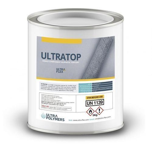 UltraTop High Performance Liquid Top Coat for UltraFlex - 5kg - Mammoth Roofing
