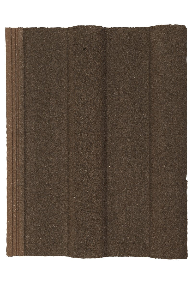 Marley Double Roman Interlocking Concrete RoofTile - Antique Brown