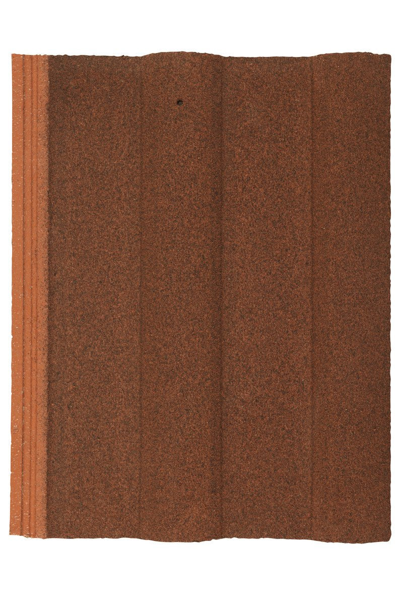 Marley Double Roman Interlocking Concrete Roof Tile - Dark Red - Mammoth Roofing