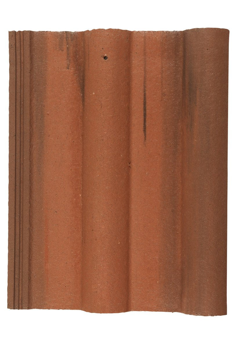 Marley Double Roman Interlocking Concrete Roof Tile - Old English Dark Red - Mammoth Roofing
