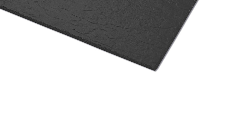 Cembrit Westerland Man-Made Fibre Cement Slate Roof Tile 600mm x 600mm - Blue/Black - Mammoth Roofing
