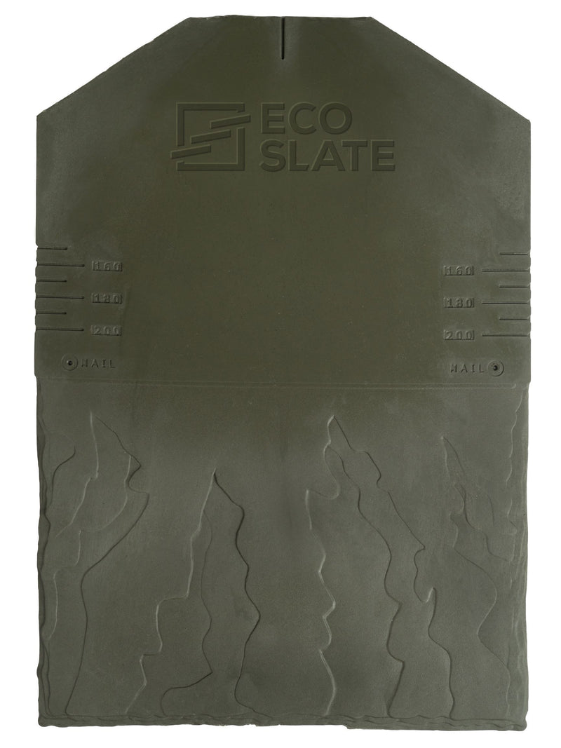 Eco Slate Roof Tile - Green (Pack of 34) - Mammoth Roofing