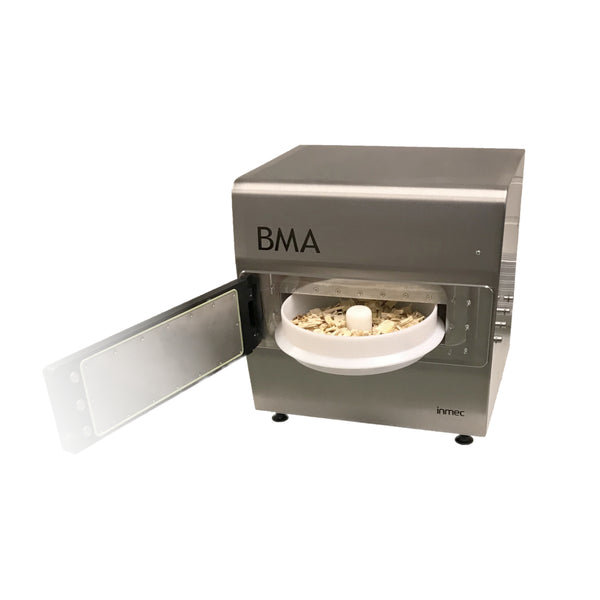 Biomass moisture analyzer