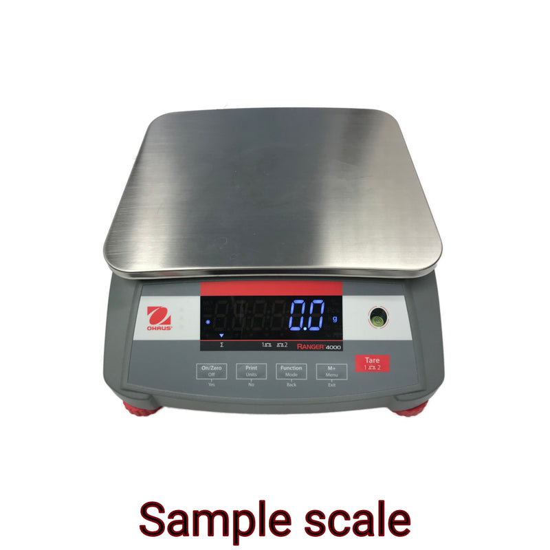Sample scale
