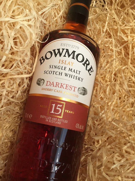 Bowmore 15 Year Old Darkest 70cl