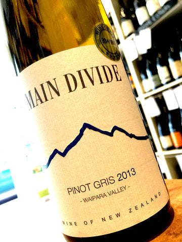 Main Divide Pinot Gris 2013 75cl