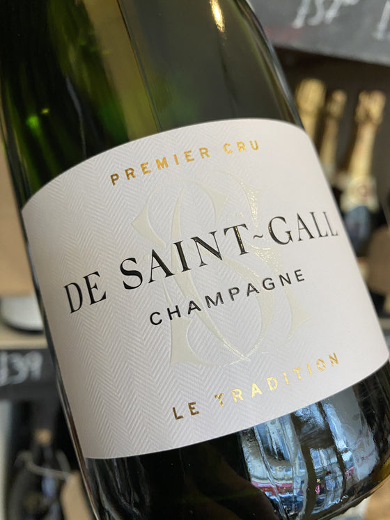 De Saint Gall Brut Tradition 1er Cru 75cl