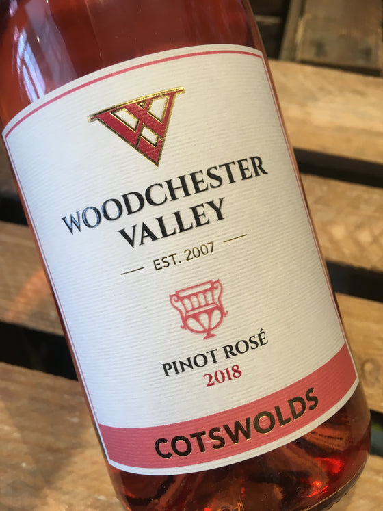 Woodchester Valley Rose 2018 75cl