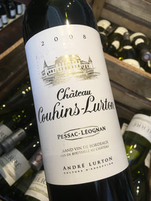 Chateau Couhins-Lurton Rouge 2008 75cl