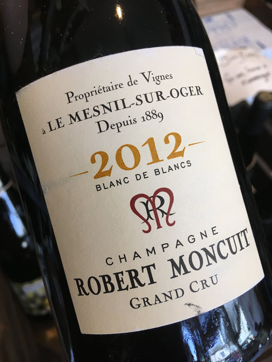 Robert Moncuit Grand Cru Blanc de Blancs Millesime 2012 75cl