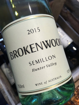 Brokenwood Semillon 2015 75cl