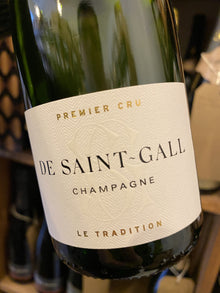 De Saint Gall Brut Tradition 1er Cru Half Bottle 37.5cl