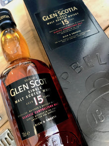 Glen Scotia 15 Year Old 70cl