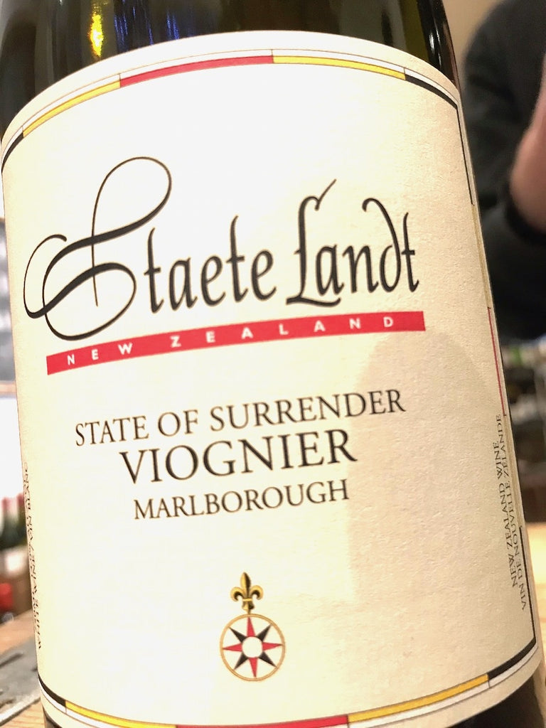 Staete Landt State of Surrender Viognier 2014 75cl