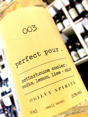 Ogilvy Spirits Perfect Pour 003: Cottarhouse Cooler