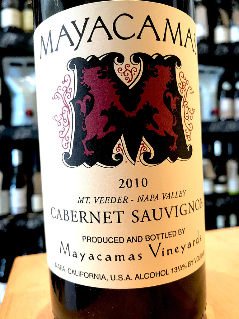 Mayacamas Vineyards Cabernet Sauvignon 2010