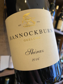 Bannockburn Shiraz 2016 75cl