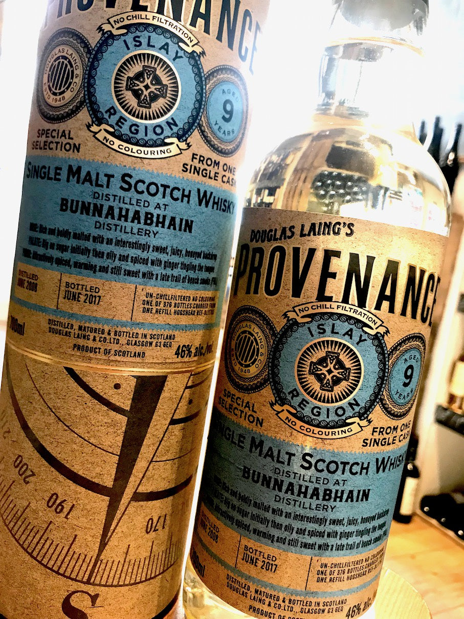 Douglas Laing Bunnahabhain Provenance 2008 9 Year Old 70cl