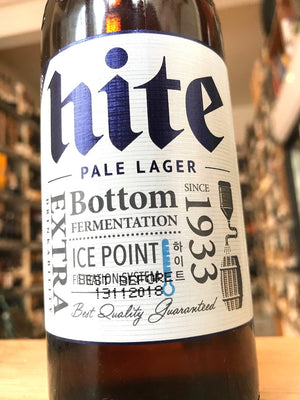 Hite Beer 33cl