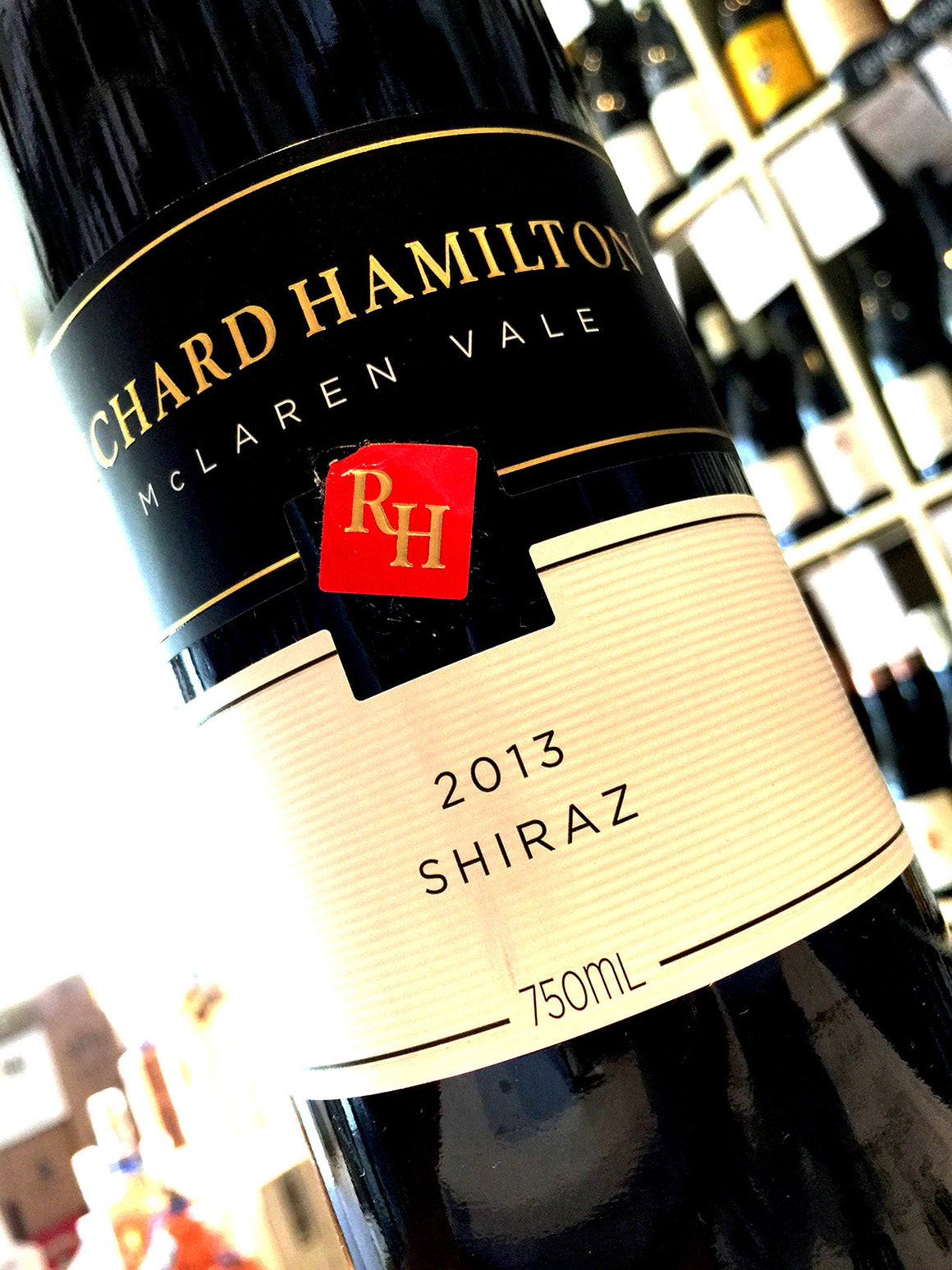 Richard Hamilton Shiraz 2013 75cl