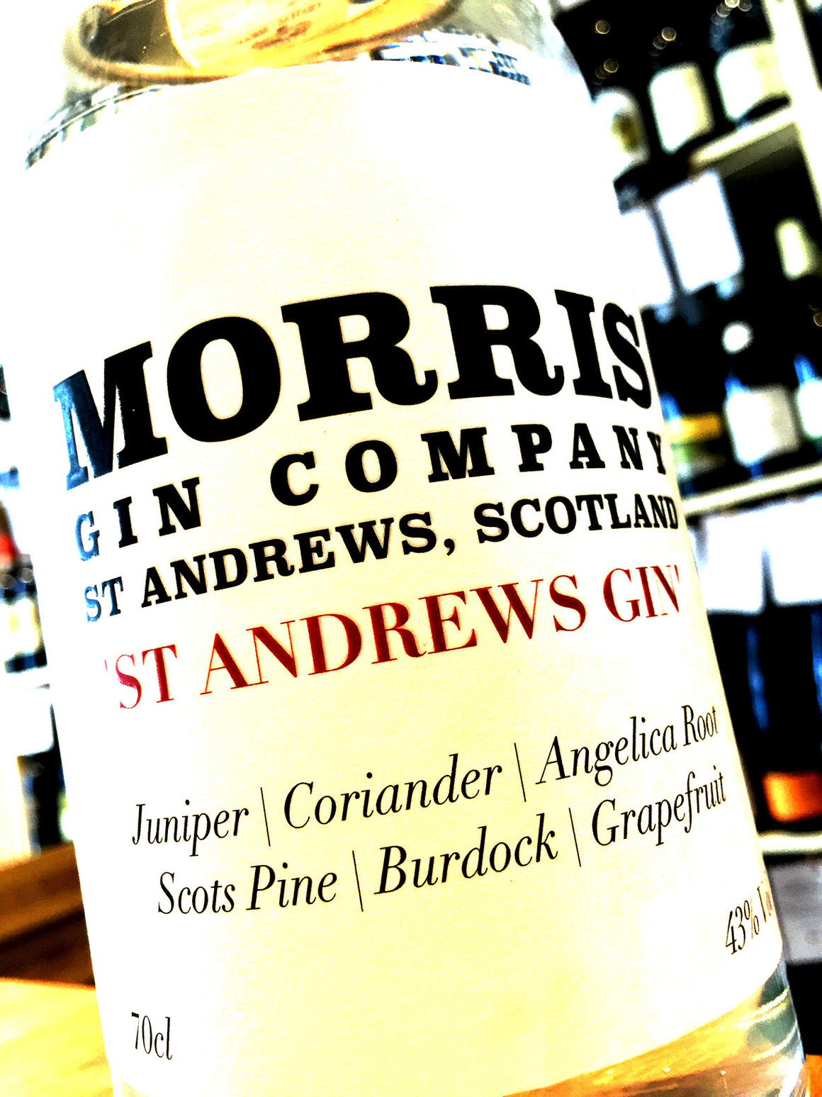 Morris Gin Company 'St Andrews Gin' 70cl