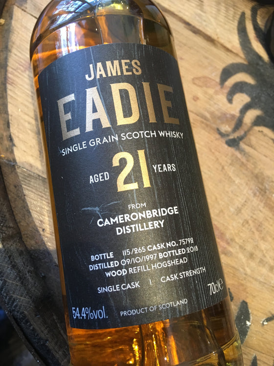 James Eadie Cameronbridge 21 Year Old 70cl