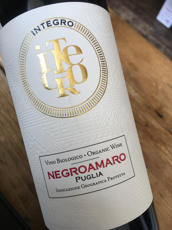 Integro Negroamaro 2017 75cl