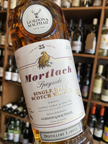 Mortlach 25 Year Old Gordon & Macphail 70cl